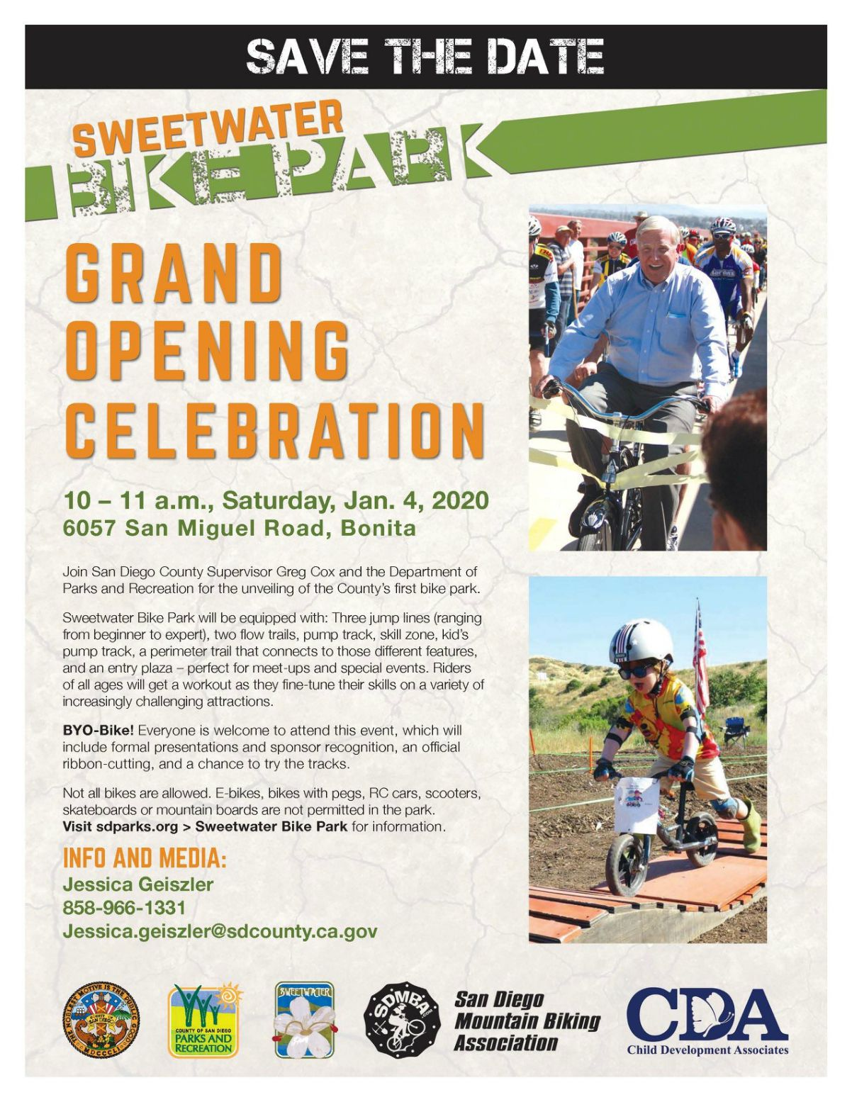 Sweetwater Bike Park Grand Opening