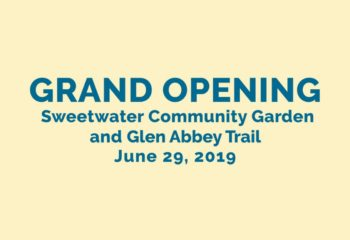 Sweetwater Community Garden and Glen Abbey Trail 1200
