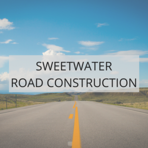 Sweetwater Road Construction